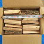 アウトドア用薪ストーブに最適サイズのミニ楢薪を薪福で販売開始